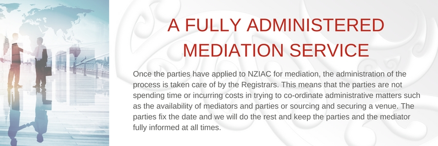 A fully administered Mediation service