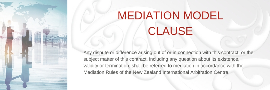 Mediation Model Clause