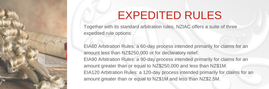 NZIAC Arbitration Slideshow Expedited Rules