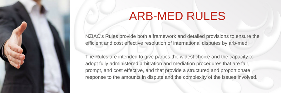 Arb-Med Rules
