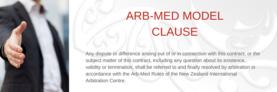 Arb-Med Model Clause