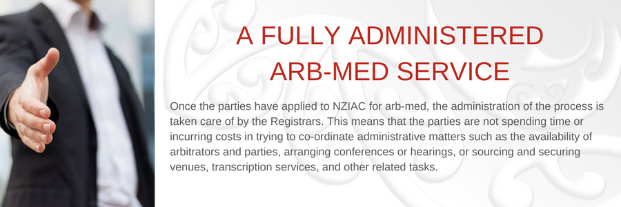 A fully administered Arb-Med service